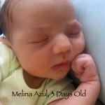 Melina, 3 Days